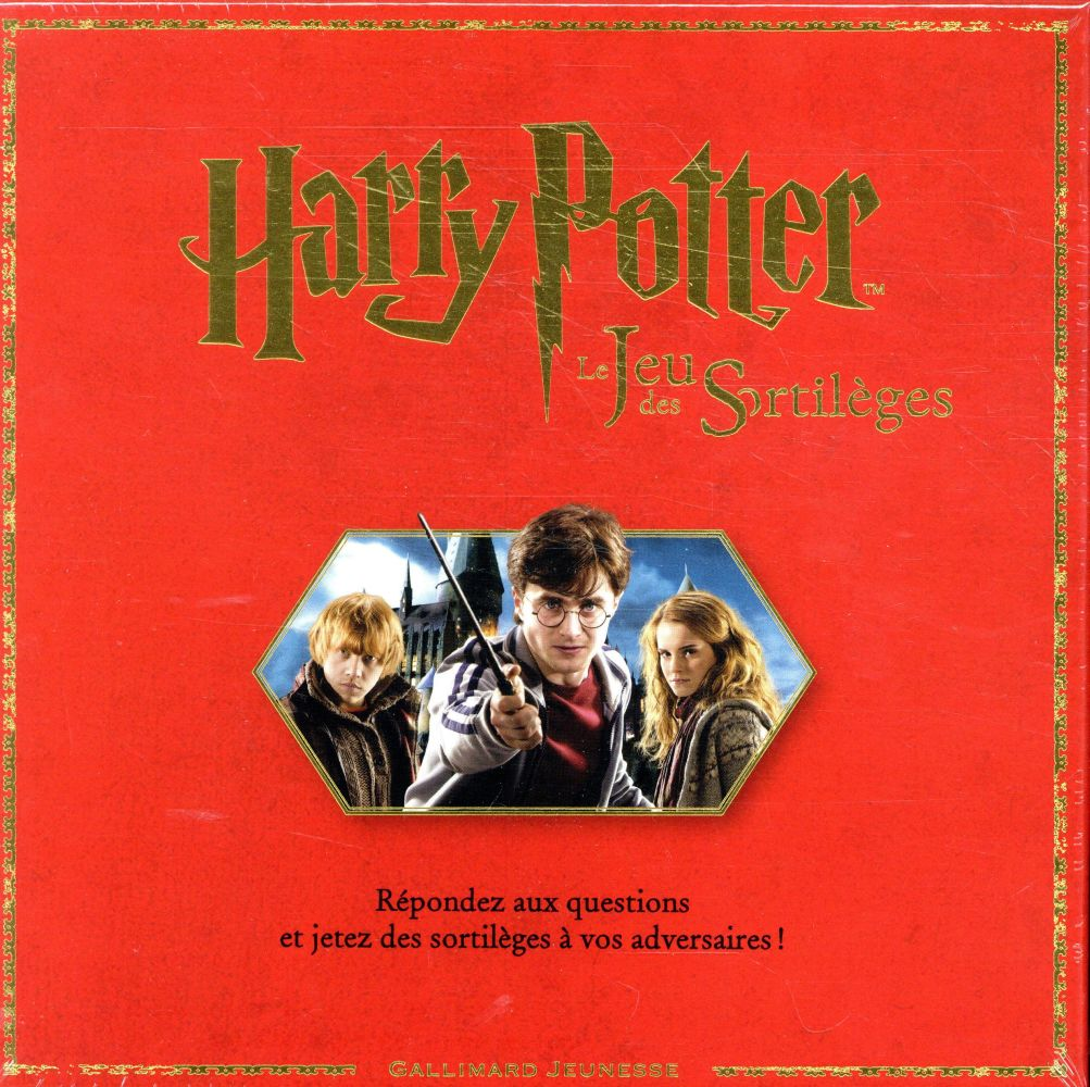 HARRY POTTER : LE JEU DES SORTILEGES